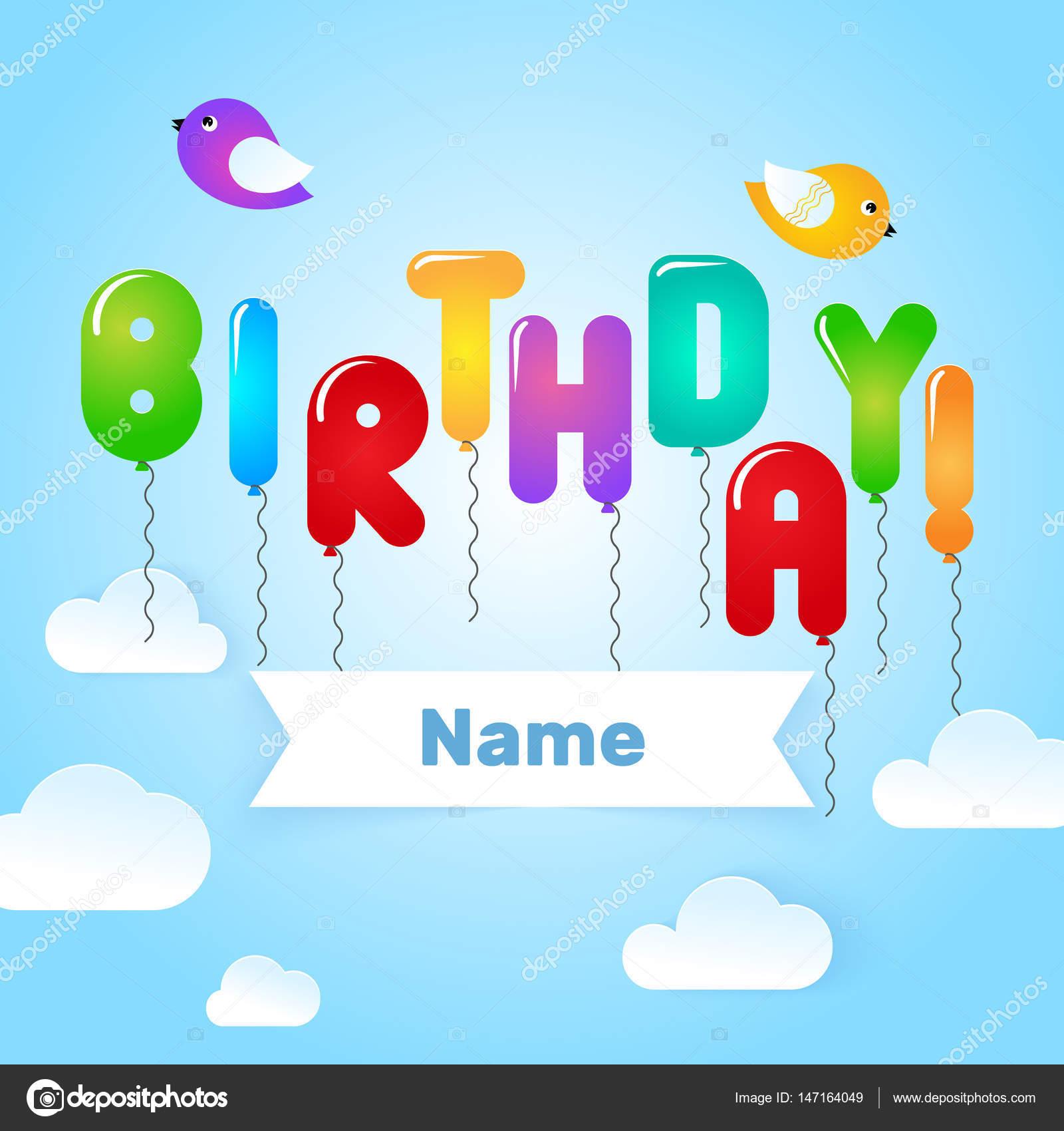 Happy birthday card template stock vector sunolga 147164049 happy birthday card template stock vector bookmarktalkfo Gallery