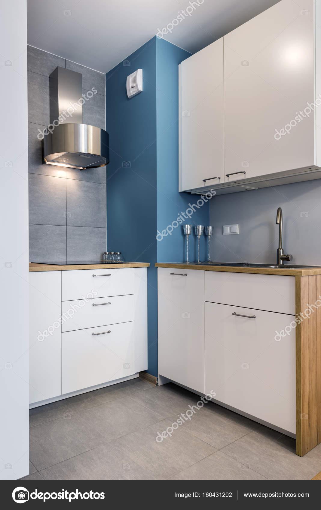 Nowoczesny Wystrój Wnętrz Kuchnia Zdjęcie Stockowe
