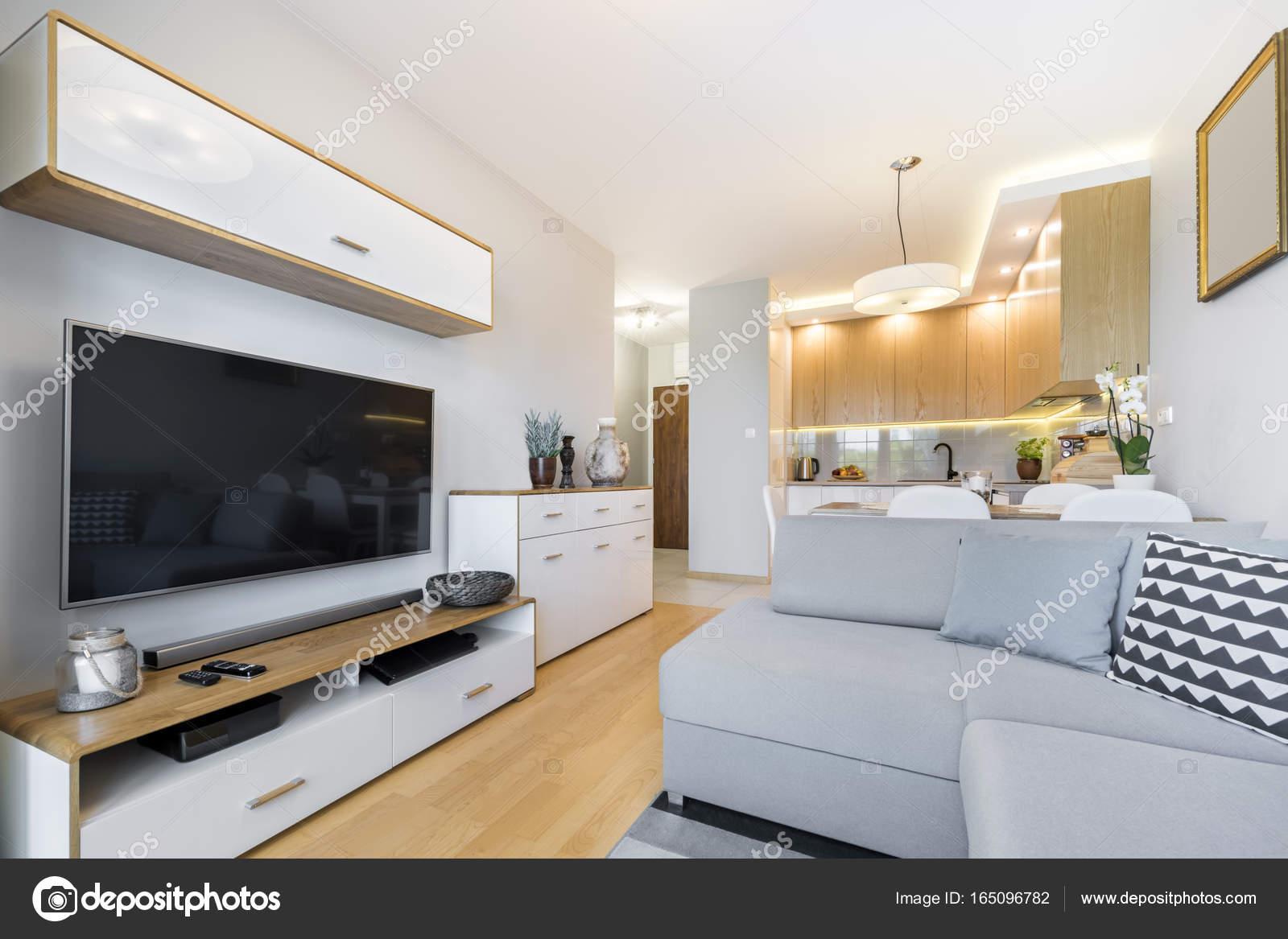 modern interieur woonkamer — Stockfoto © jacek_kadaj #165096782