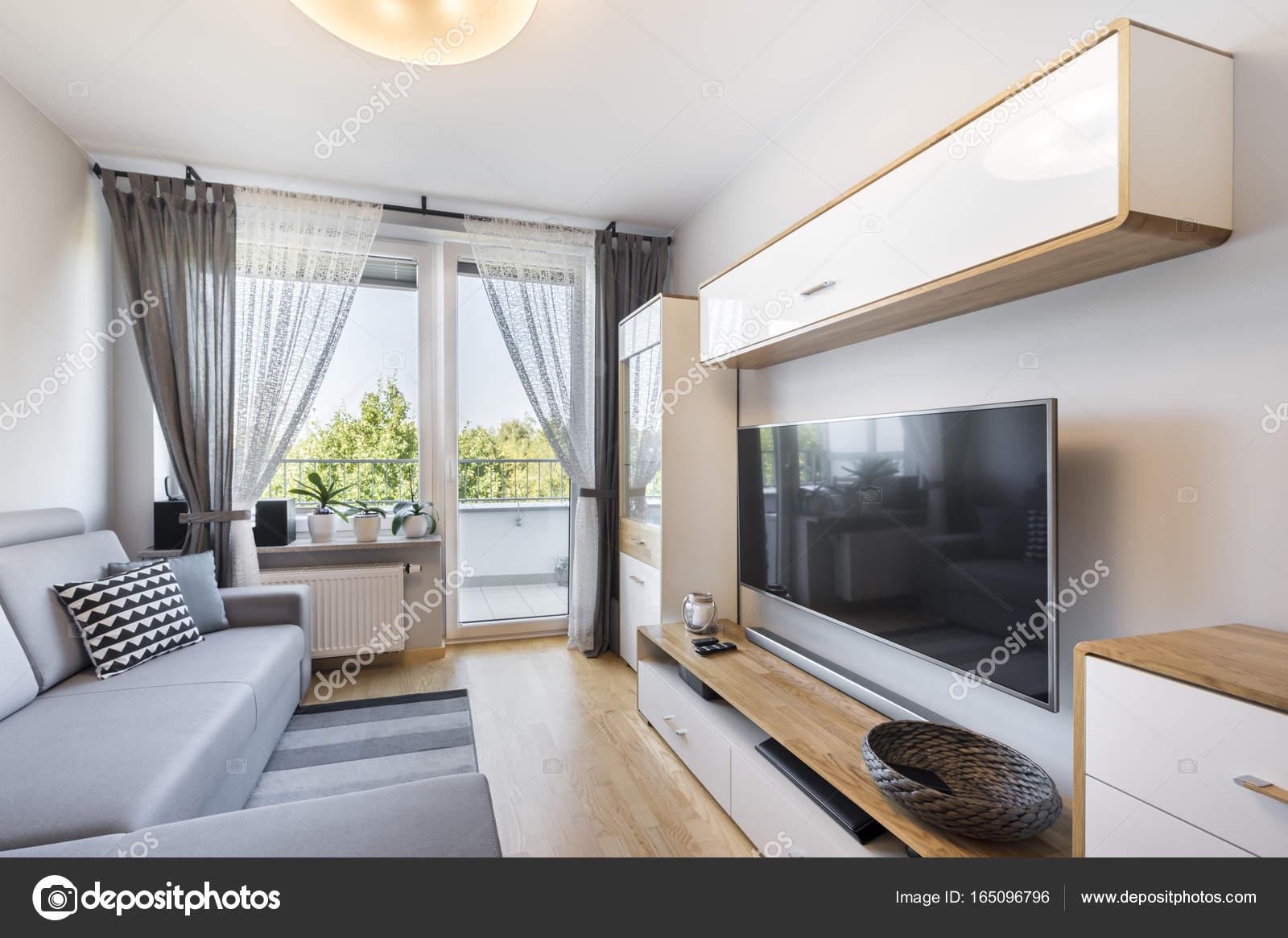 Fotos Sala Moderna Apartamento Pequeno Sal N En