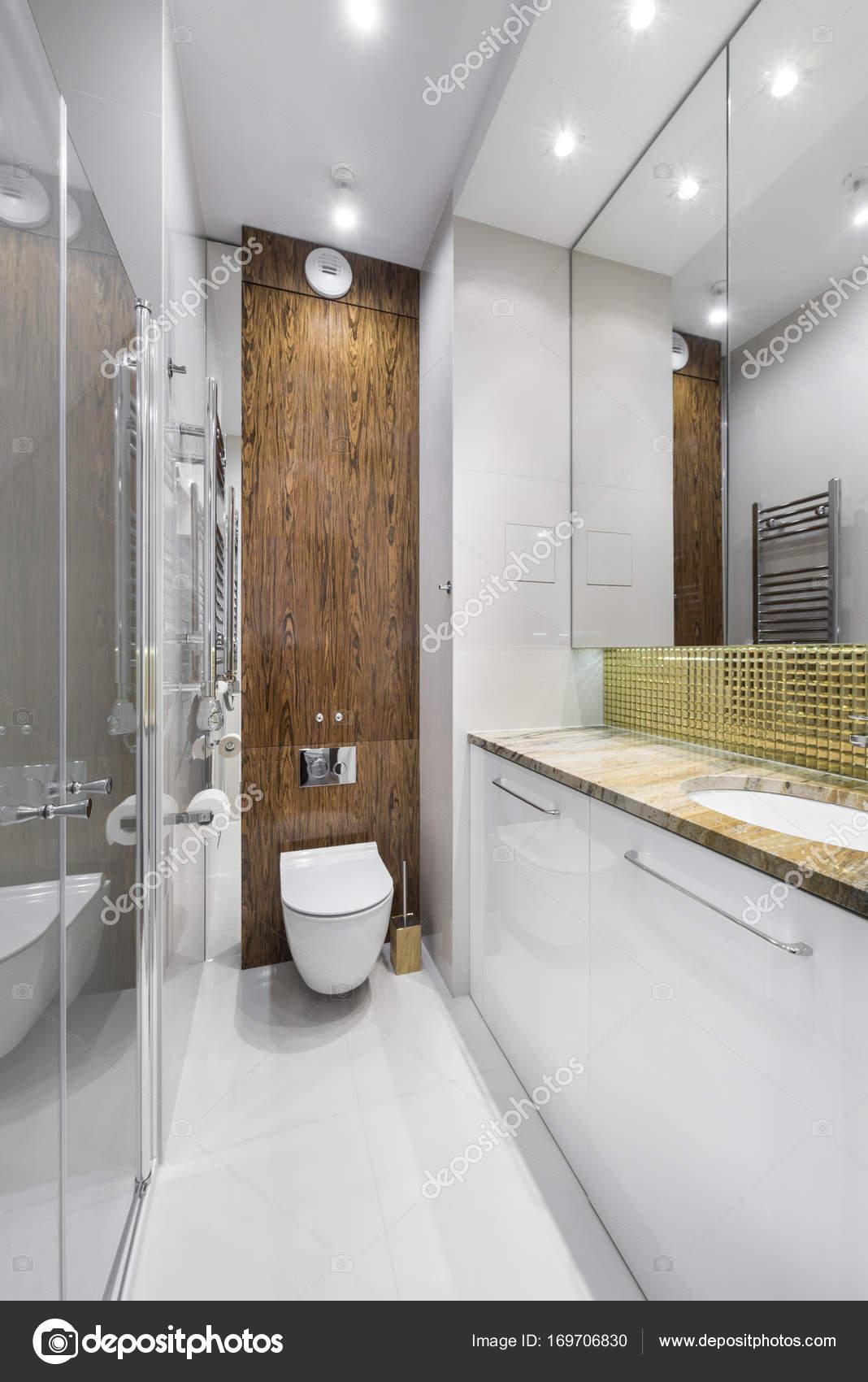 Moderne Badezimmer-Innenarchitektur — Stockfoto ...