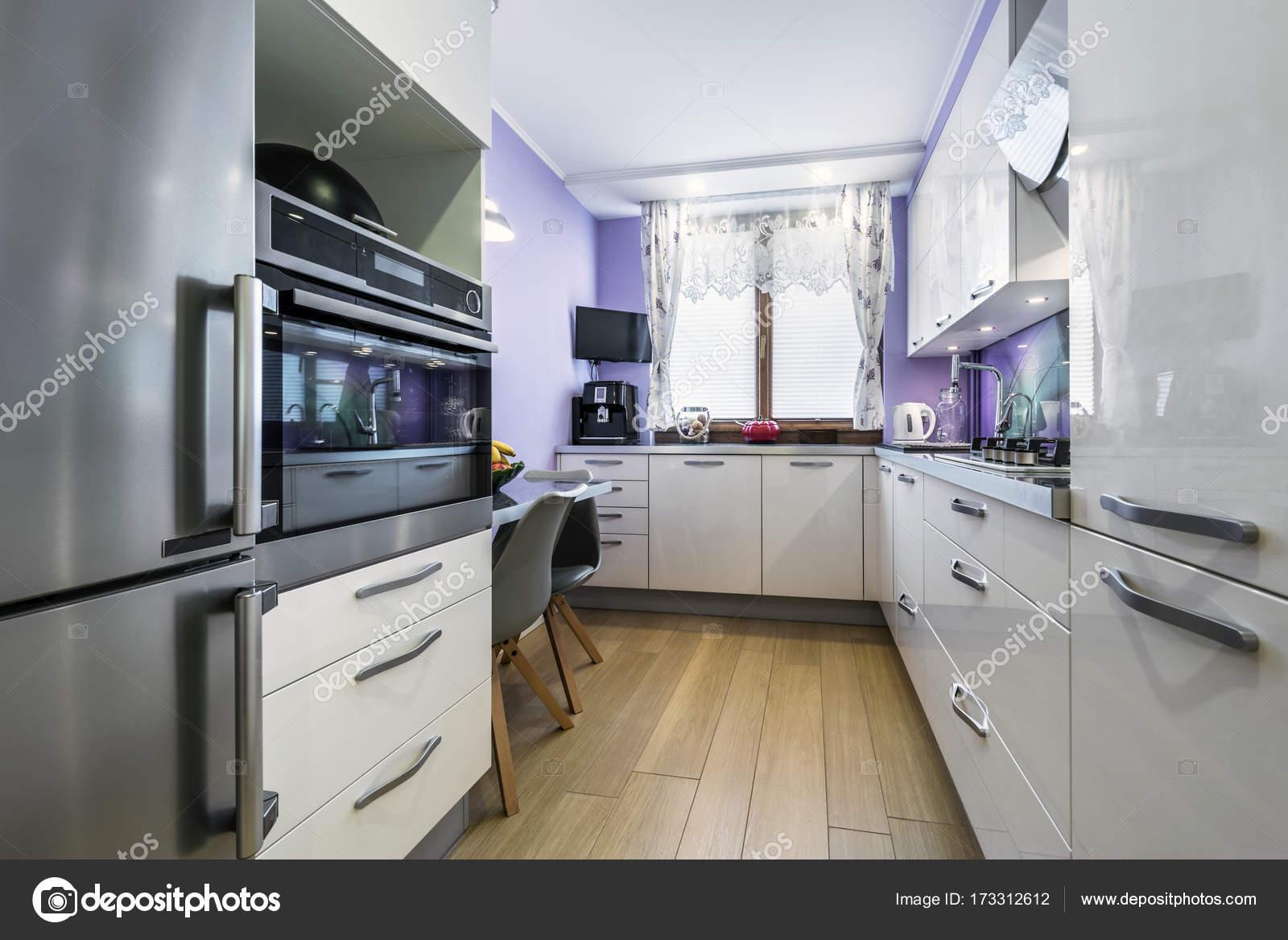 Design De Interiores De Cozinha Moderna Stock Photo Jacek_kadaj