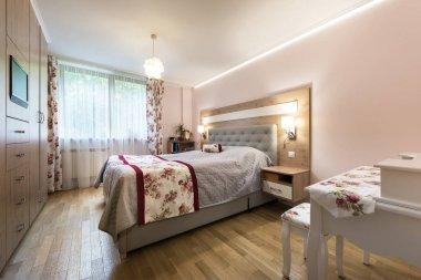 Stylish bedroom interior design