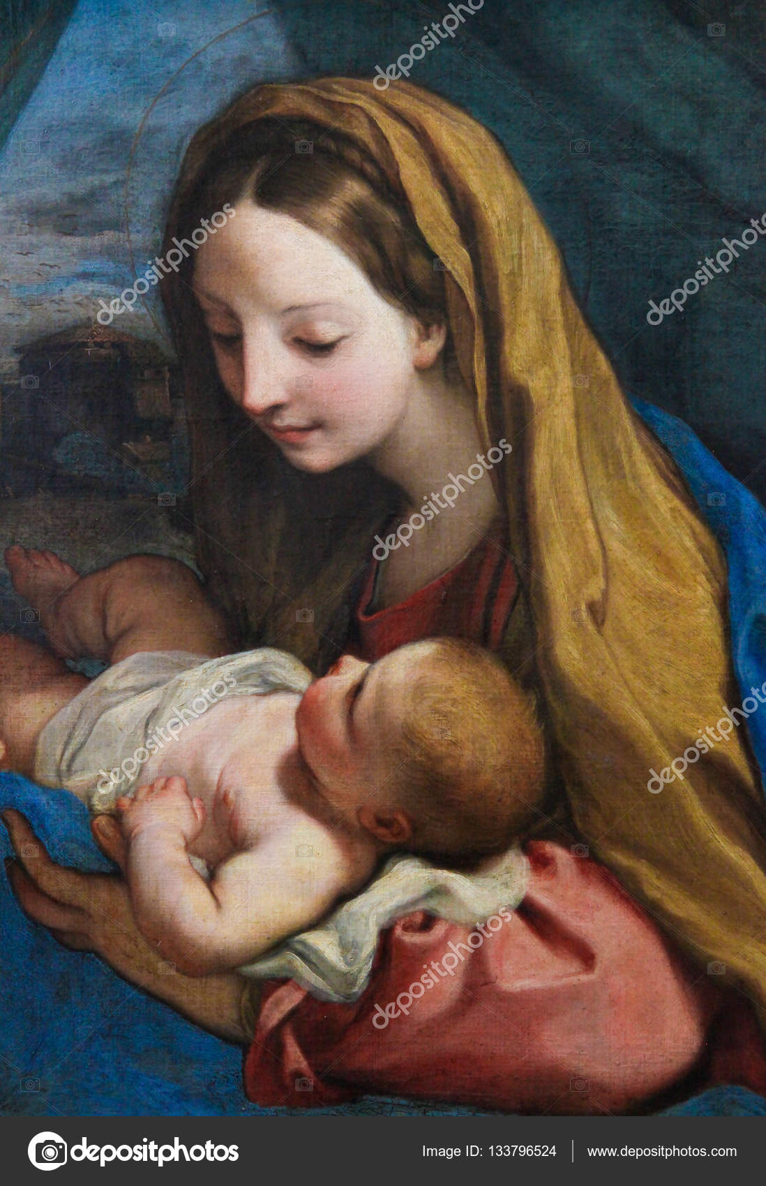 mother mary and child jesus stock editorial photo jorisvo 133796524