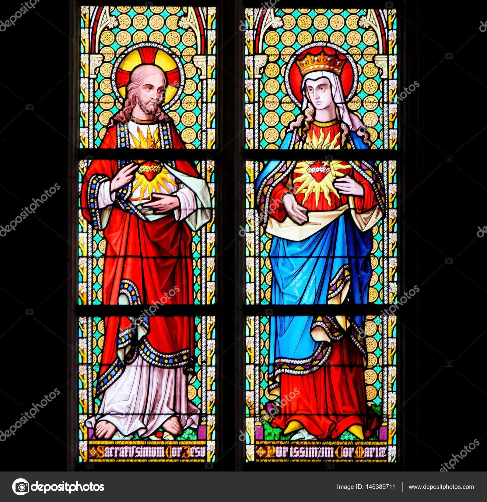Imágenes Sagrado Corazon De Jesus Para Descargar Vidrieras
