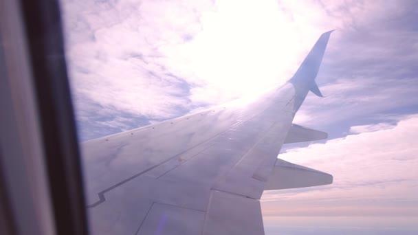 Letecký pohled z letadla