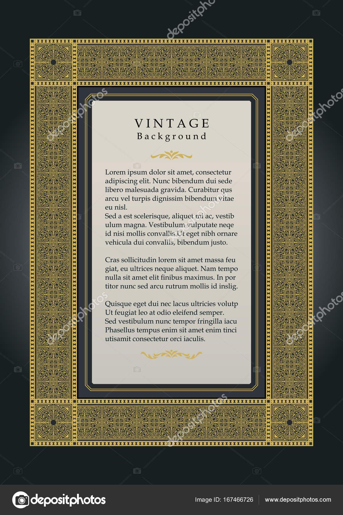 Vektor-Frame-Design, kreative Zertifikat, Auszeichnung und Einladung ...