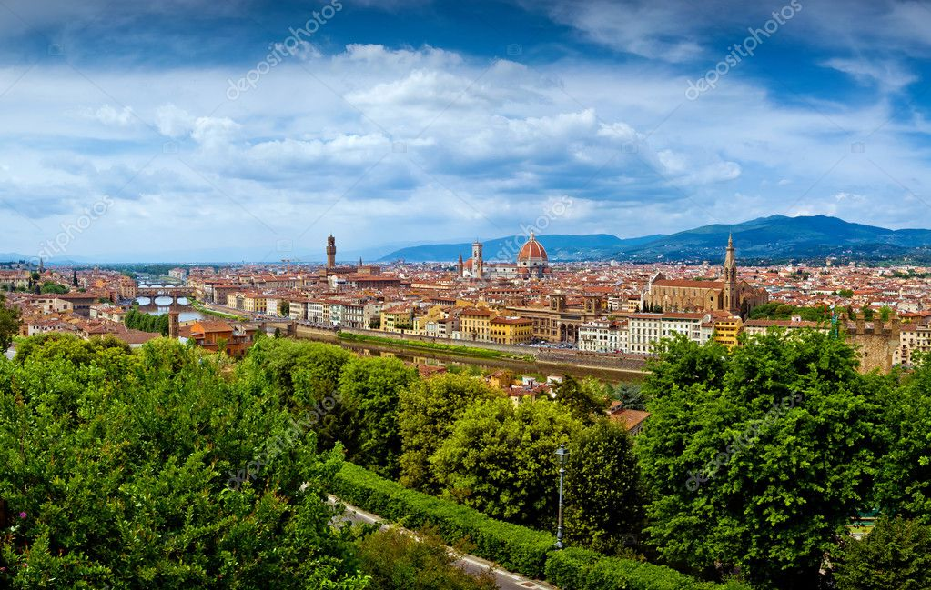 Firenze city view