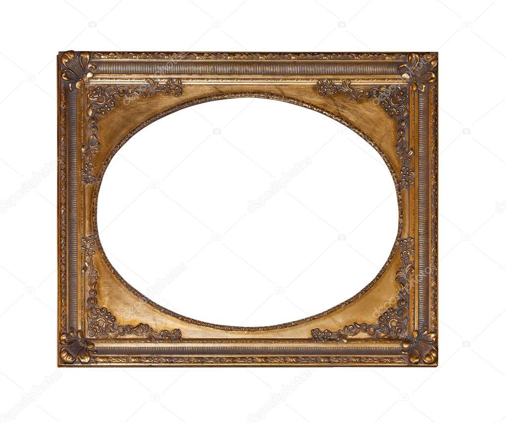 Antiguo marco de oro para pintar — Fotos de Stock © prescott10 ...