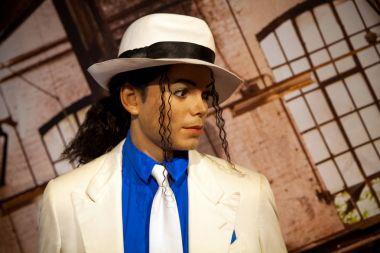 Wax figure of Michael Jackson in Madame Tussauds Wax museum in Amsterdam, Netherlands