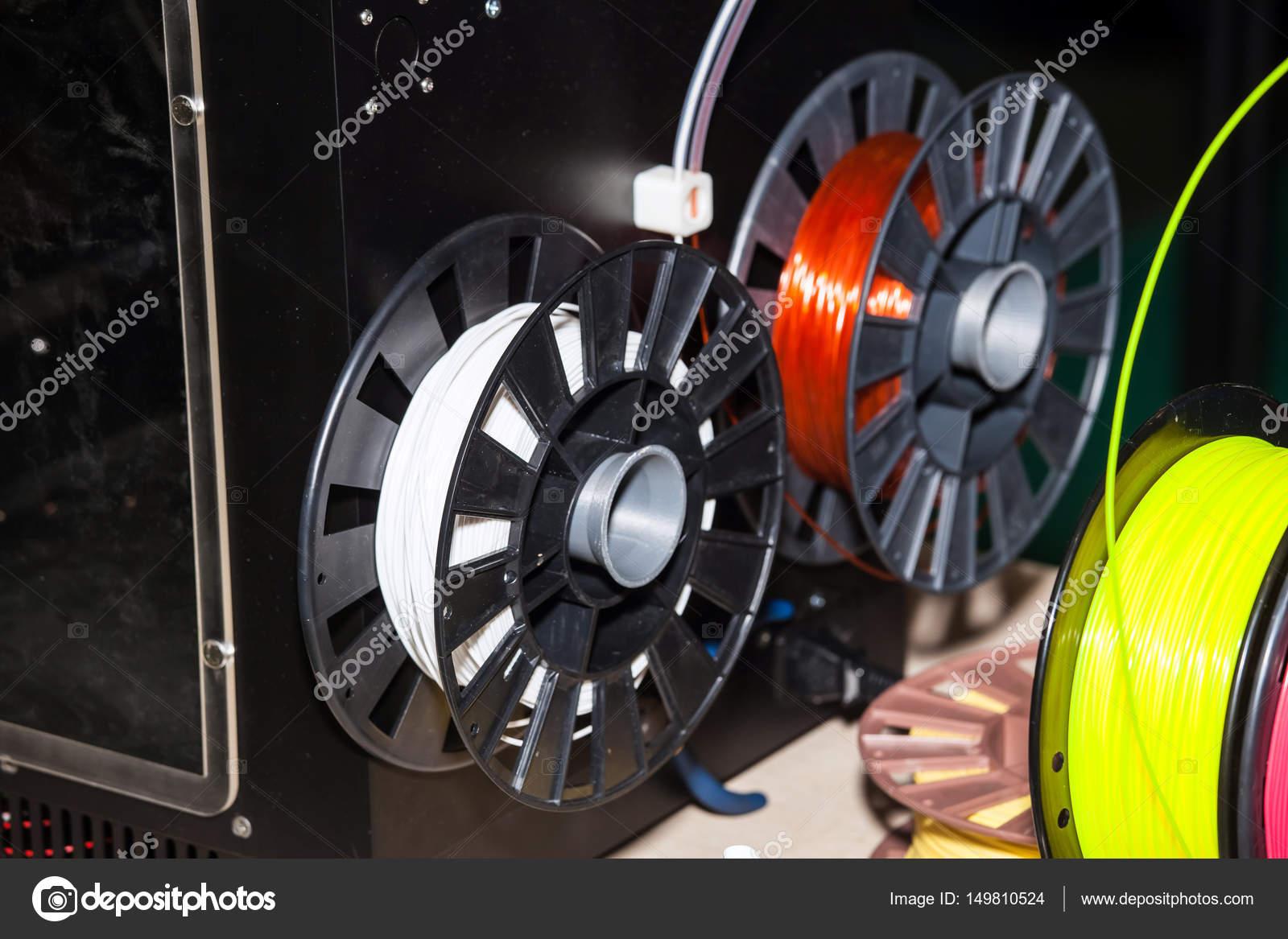 ABS wire plastic for 3d printer — Stock Photo © prescott10 #149810524