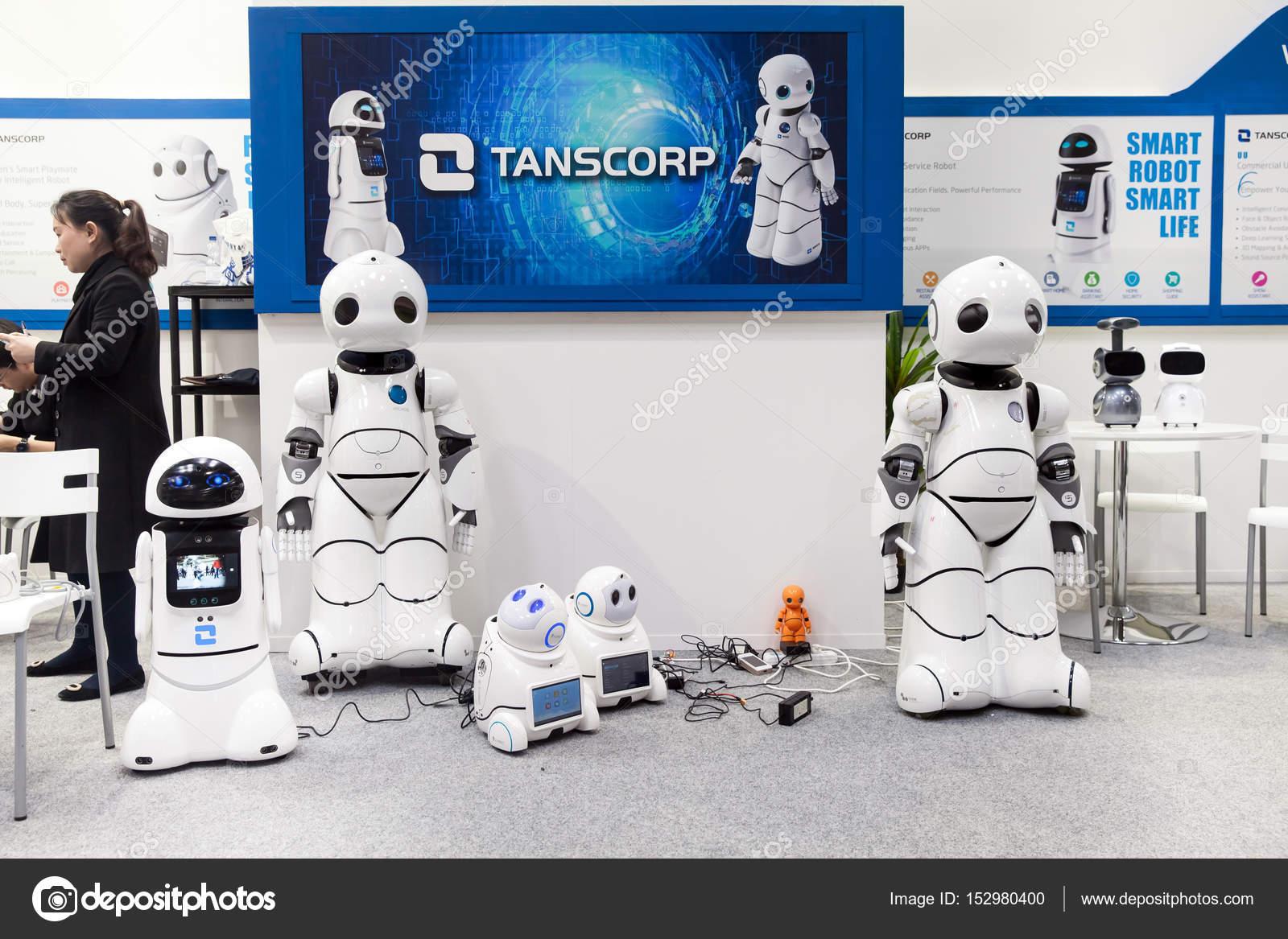 Smart robot UU dancing  Shenzhen Tanscorp technology company