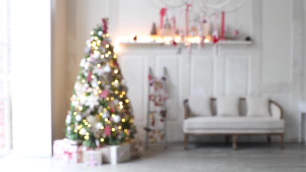 Christmas and New Year interior decoration