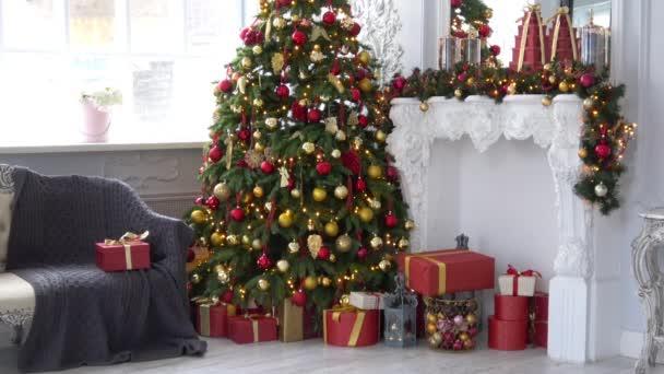 Natale e capodanno decorazione di interni