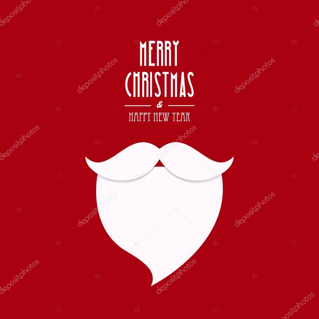 5170ad1d59c7b Fondo de Navidad tipo red de la barba de santa claus — Archivo Imágenes  Vectoriales