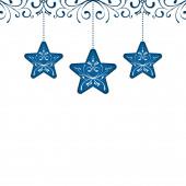Vánoční hvězda dekorace dekorace karta prvek pozadí