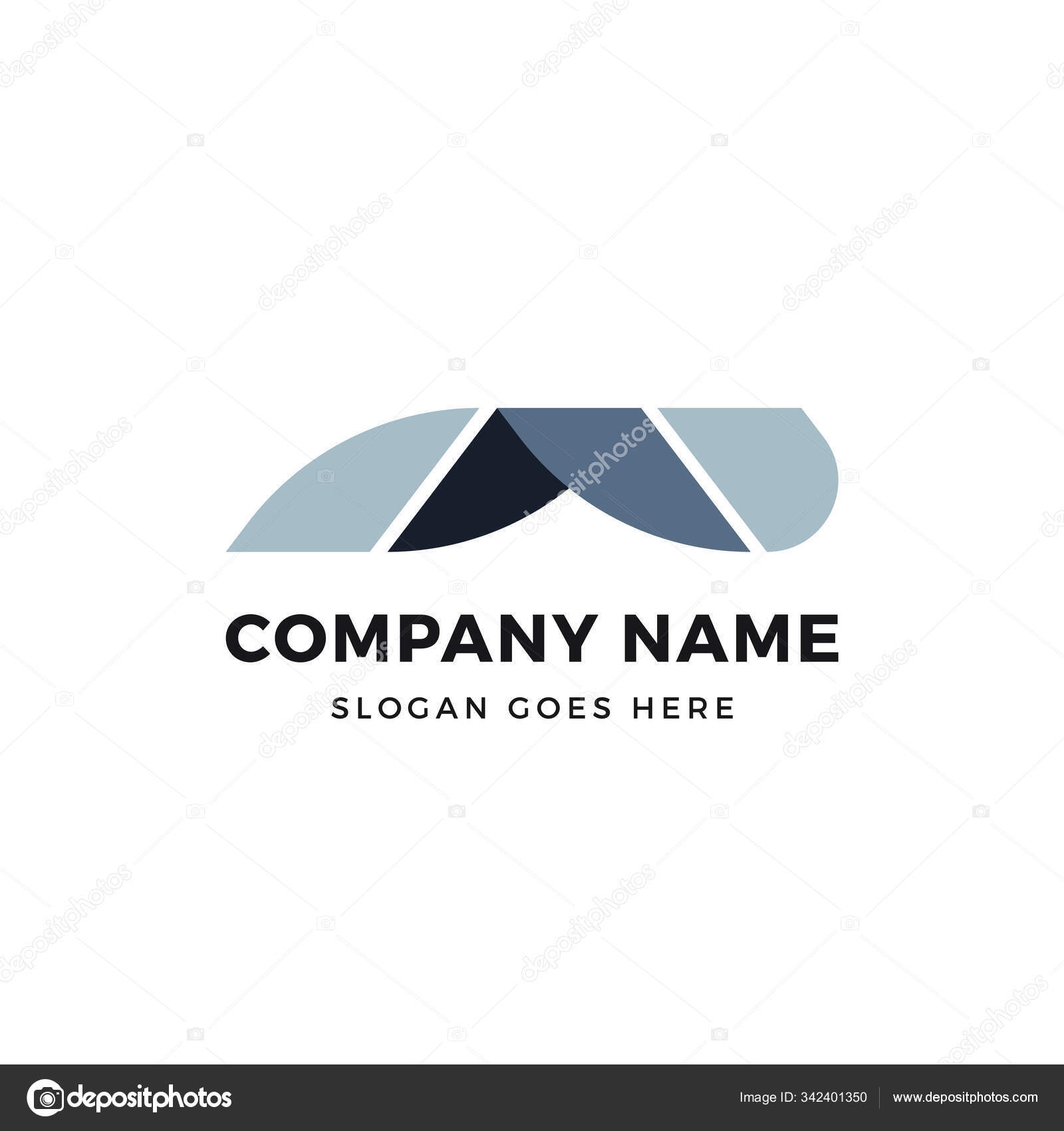 Creative A Letter Roof Vector Logo Icon Design Template Abstract Logotype Concept Element Sign Shape Stock Vector C Graphicgum 342401350