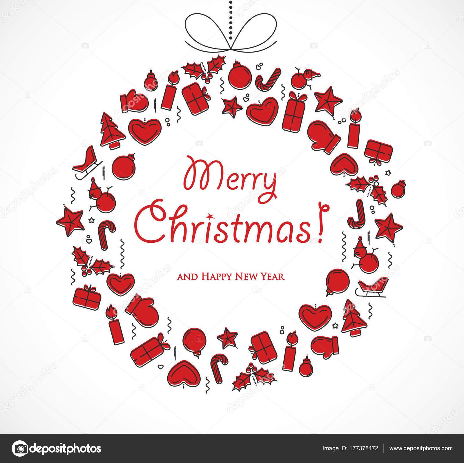 Merry christmas season greetings card stock vector pstocks merry christmas season greetings card stock vector 177378472 kristyandbryce Choice Image