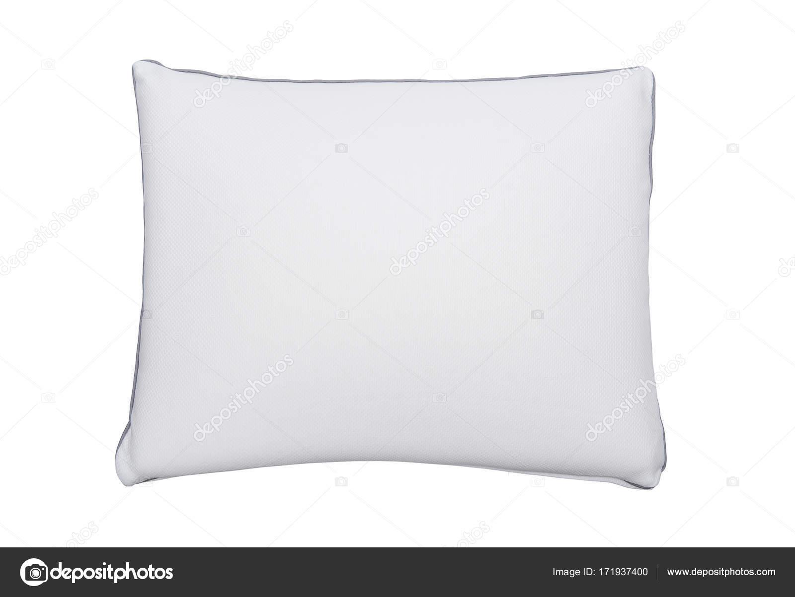 Memory Foam Kussen : Memory foam kussen op de witte achtergrond u2014 stockfoto © deaurinko