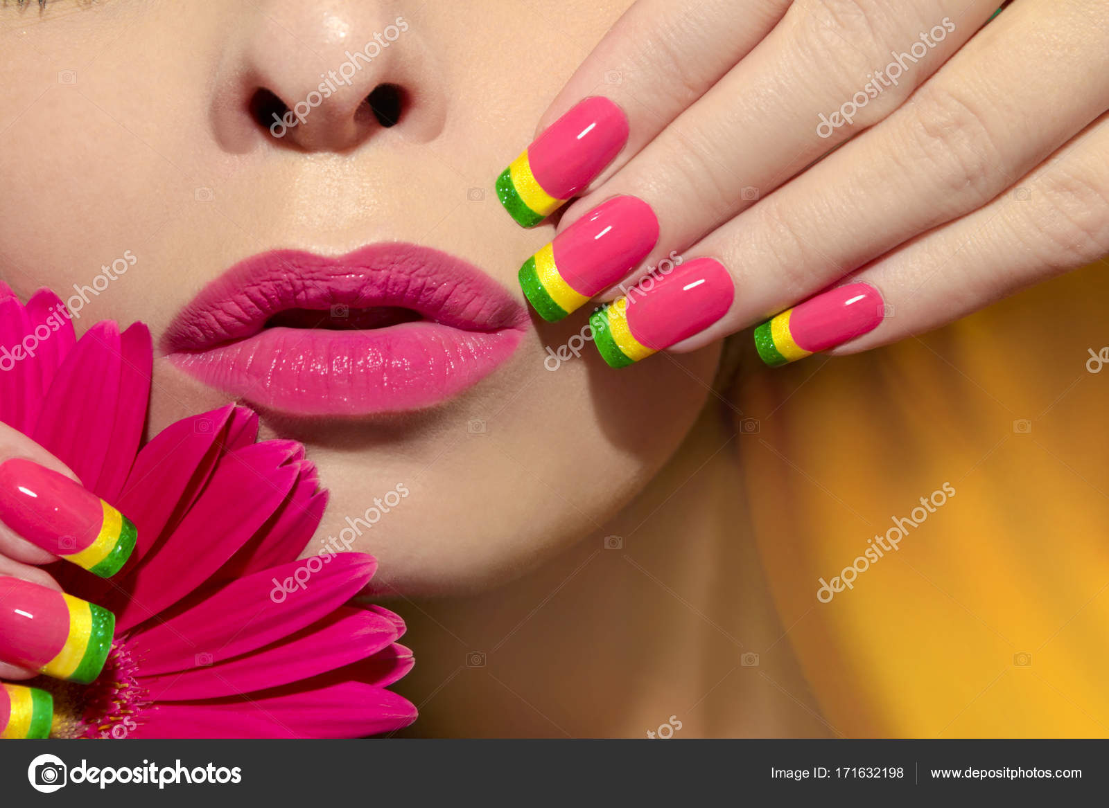 Forum on this topic: How to Do a Multicolored French Manicure, how-to-do-a-multicolored-french-manicure/