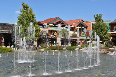 The Fountain Show at The Island in Pigeon Forge, Tennessee