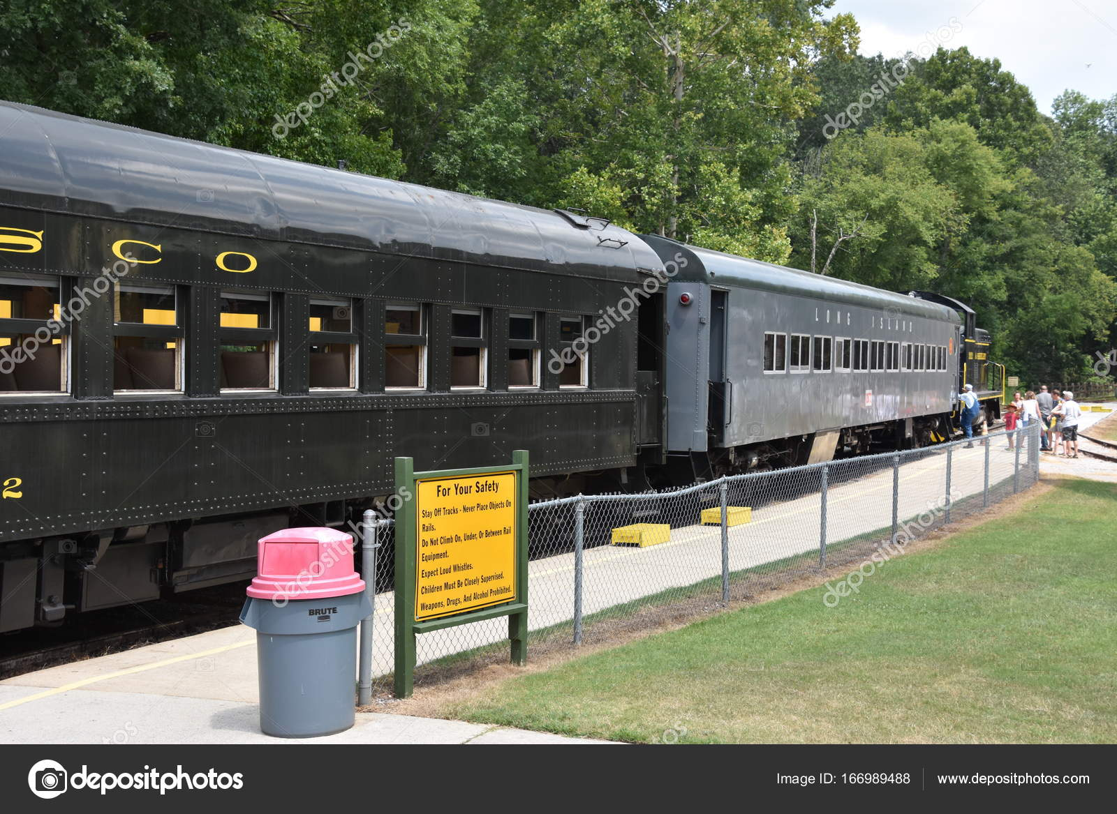 Calera Jul Heart Dixie Railroad Museum Calera Alabama Seen July