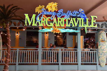 BLOOMINGTON, MINNESOTA - JUL 27: Margaritaville at Mall of America in Bloomington, Minnesota, as seen on July 27, 2017. It is the second largest mall in terms of leaseable space and the largest mall in the United States in terms of total floor area.