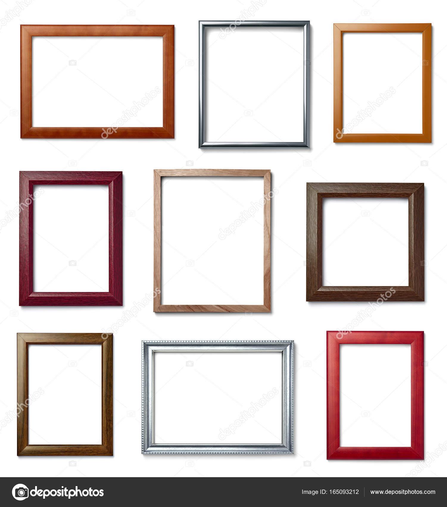 imagen de fondo de madera de marco vintage — Fotos de Stock ...