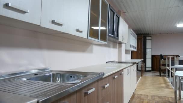 Obchod dobré kuchyňské skříňky domu celkový pohled