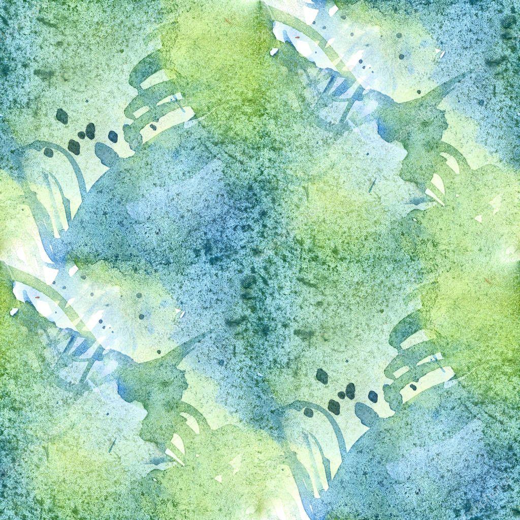 Aquarelle Transparente Abstraite Colore Pour Le Fond Digital Art