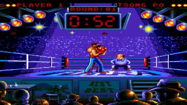 Uryupinsk Rusia 23 De Enero De 2017 Juego Consola Sega Genesis