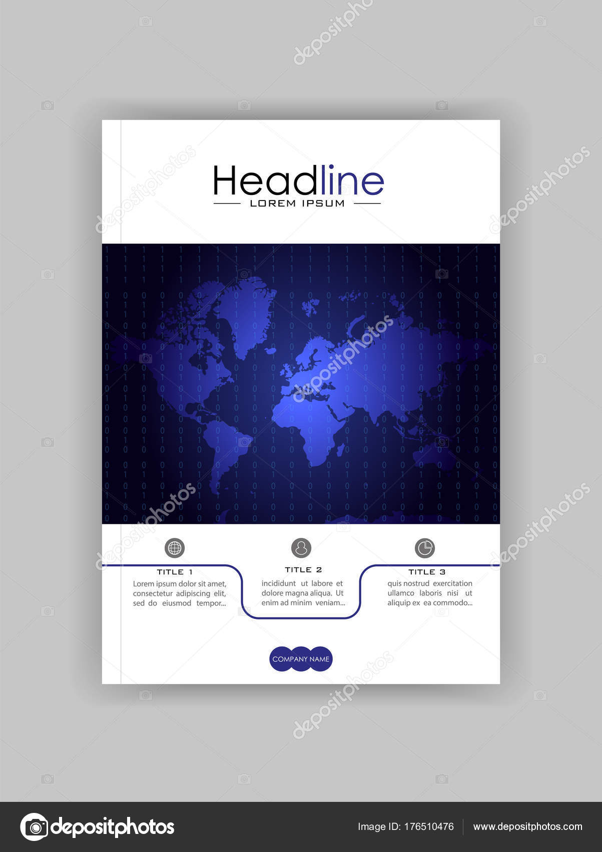 World map banner cover design book cover journal conference world map banner cover design book cover journal conference annual report design vector vector by luyali gumiabroncs Image collections