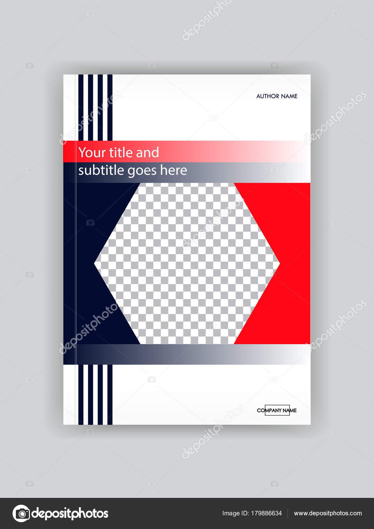 Business Buch-Cover-Design-Vorlage. Gut für Portfolio, Brochur ...