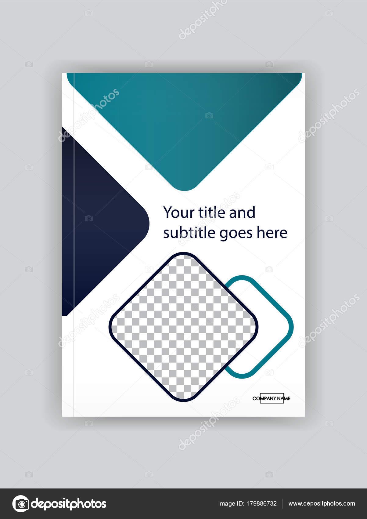 Business Deposit Book Cover ~ Бизнес шаблон дизайн обложки книги Хорошо для портфолио