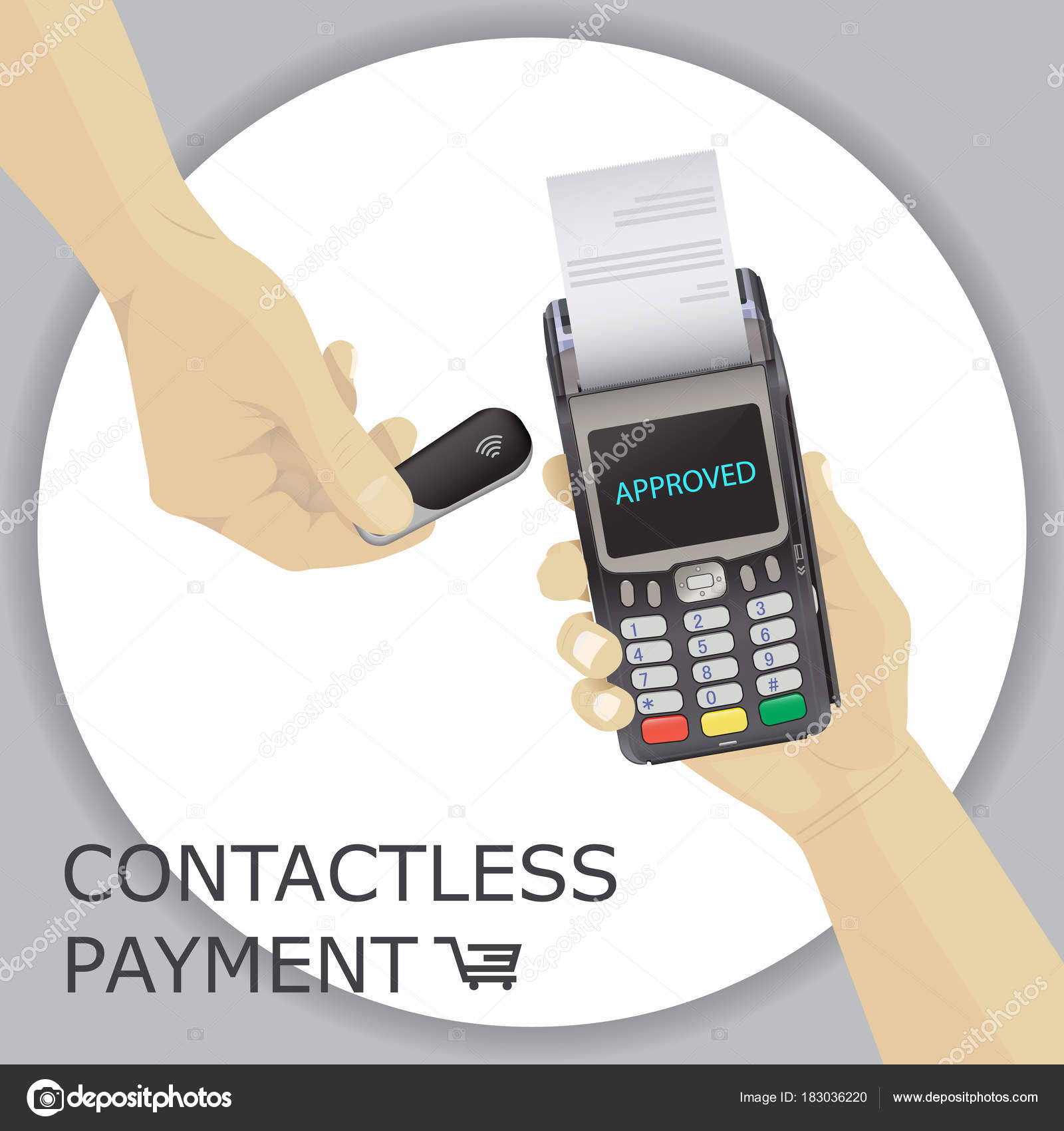 Contactless Pinpad Keychain