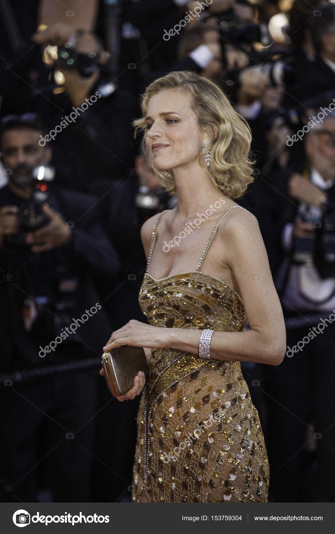 Eva Herzigova At Opening Gala In Cannes Stock Editorial Photo C Tanka V 153759304