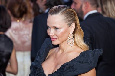 Pamela Anderson attends Cannes Film Festival
