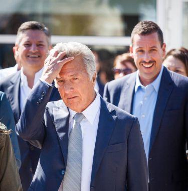 Dustin Hoffman at Cannes Film Festival