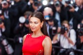 CANNES, FRANCE - MAY 10, 2018: Model Irina Shayk attending screening of Sorry Angel (Plaire, Aimer Et Courir Vite) during the 71st annual Cannes Film Festival