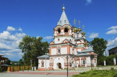 Church of the Epiphany in the town of Solikamsk
