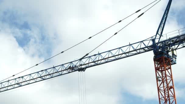 Industrial Tower Crane Jib and Trolly Fast Clouds