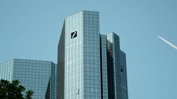 Deutsche Bank Headquarter Towers in Frankfurt Germany