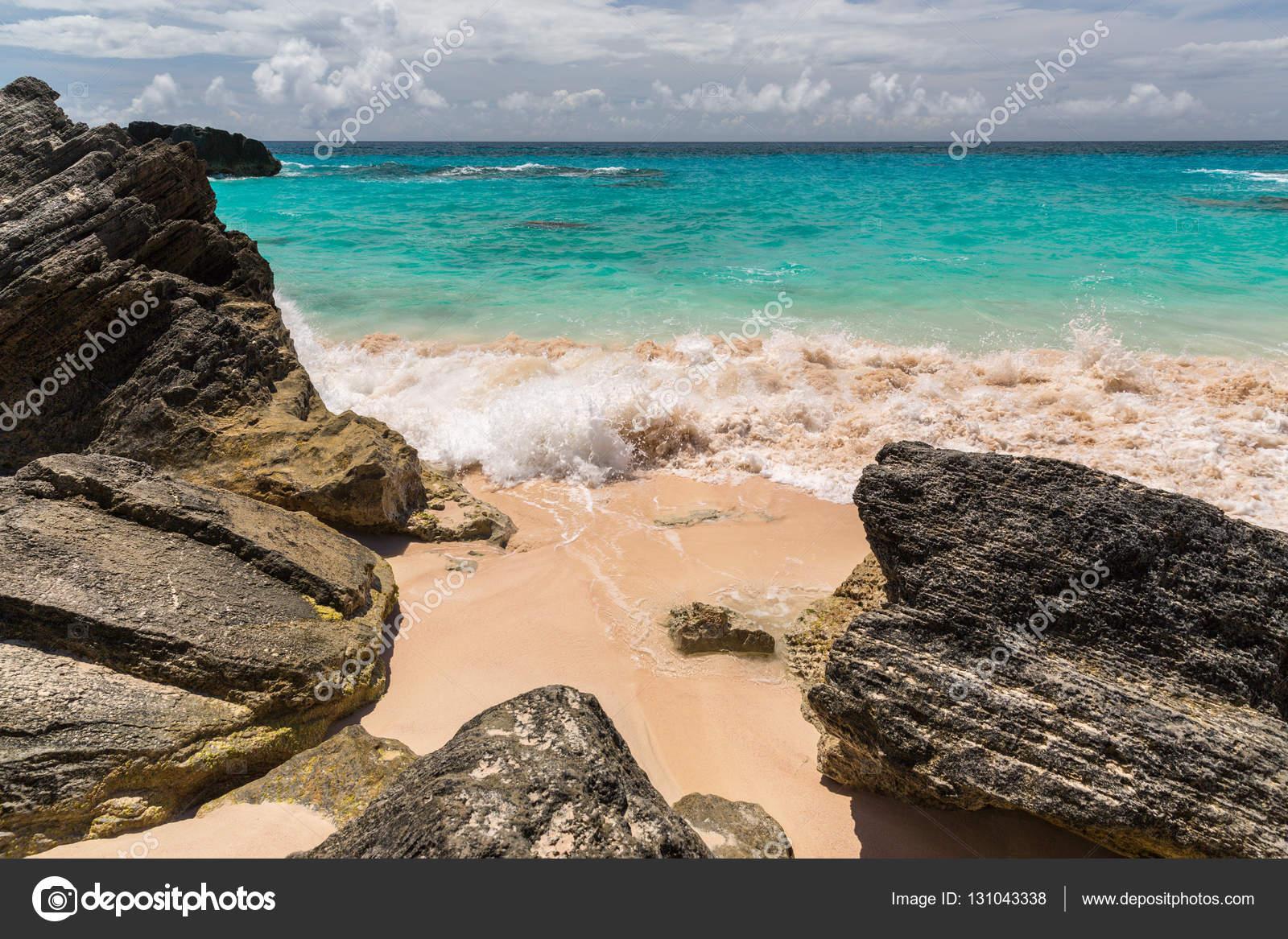 Bahía Las La — De En Bermudas Herradura Stock Fotos m8nNw0