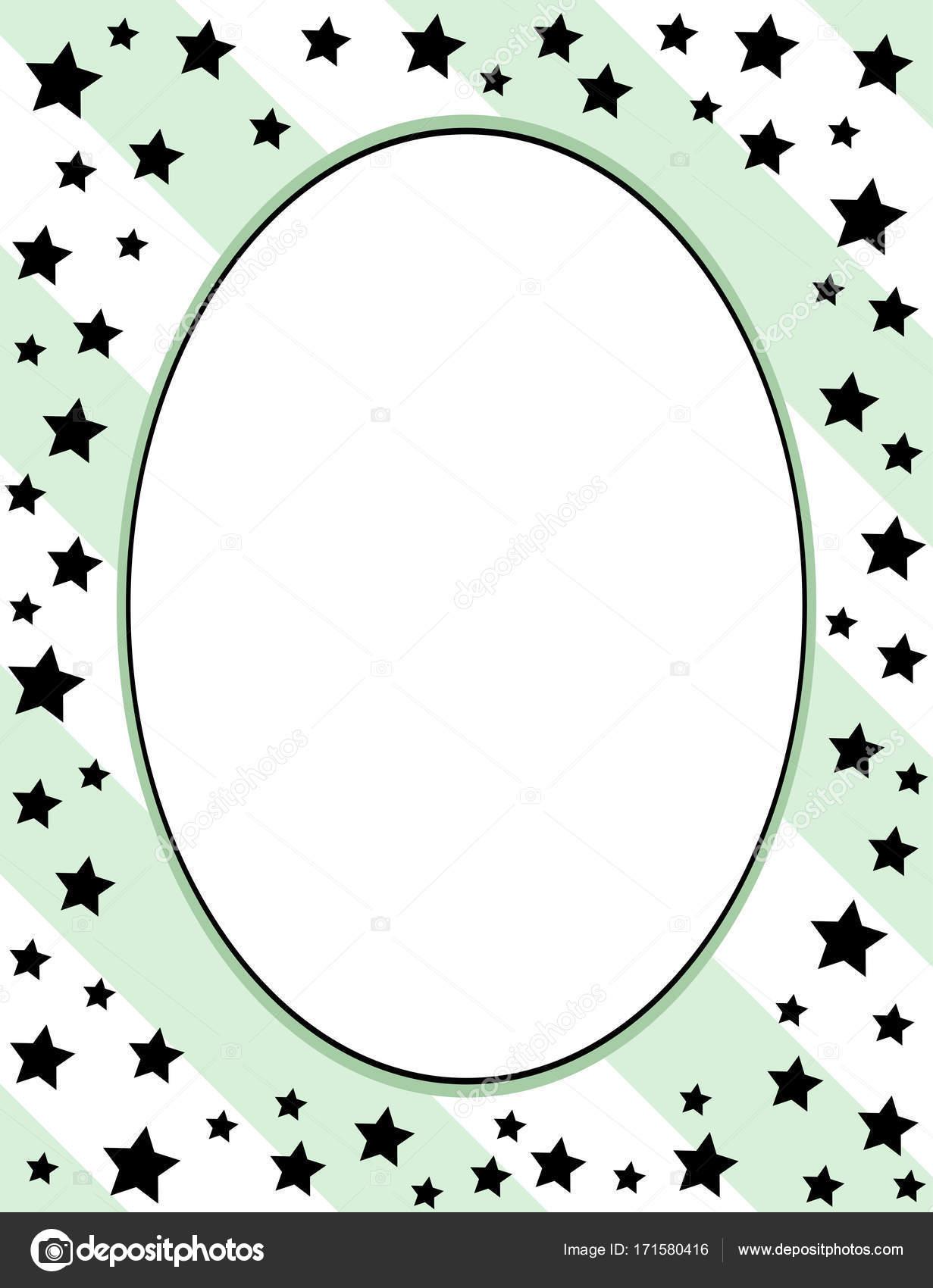 diseño de marco de plantillas para tarjetas de felicitación — Foto ...