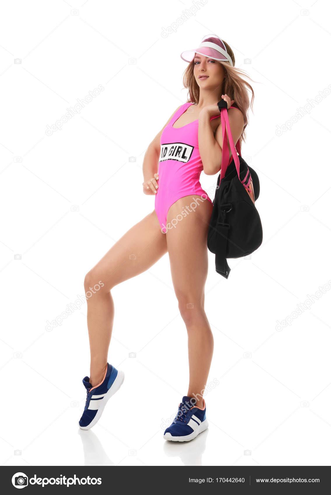 Сексуальные спортсменки в спортивной форме