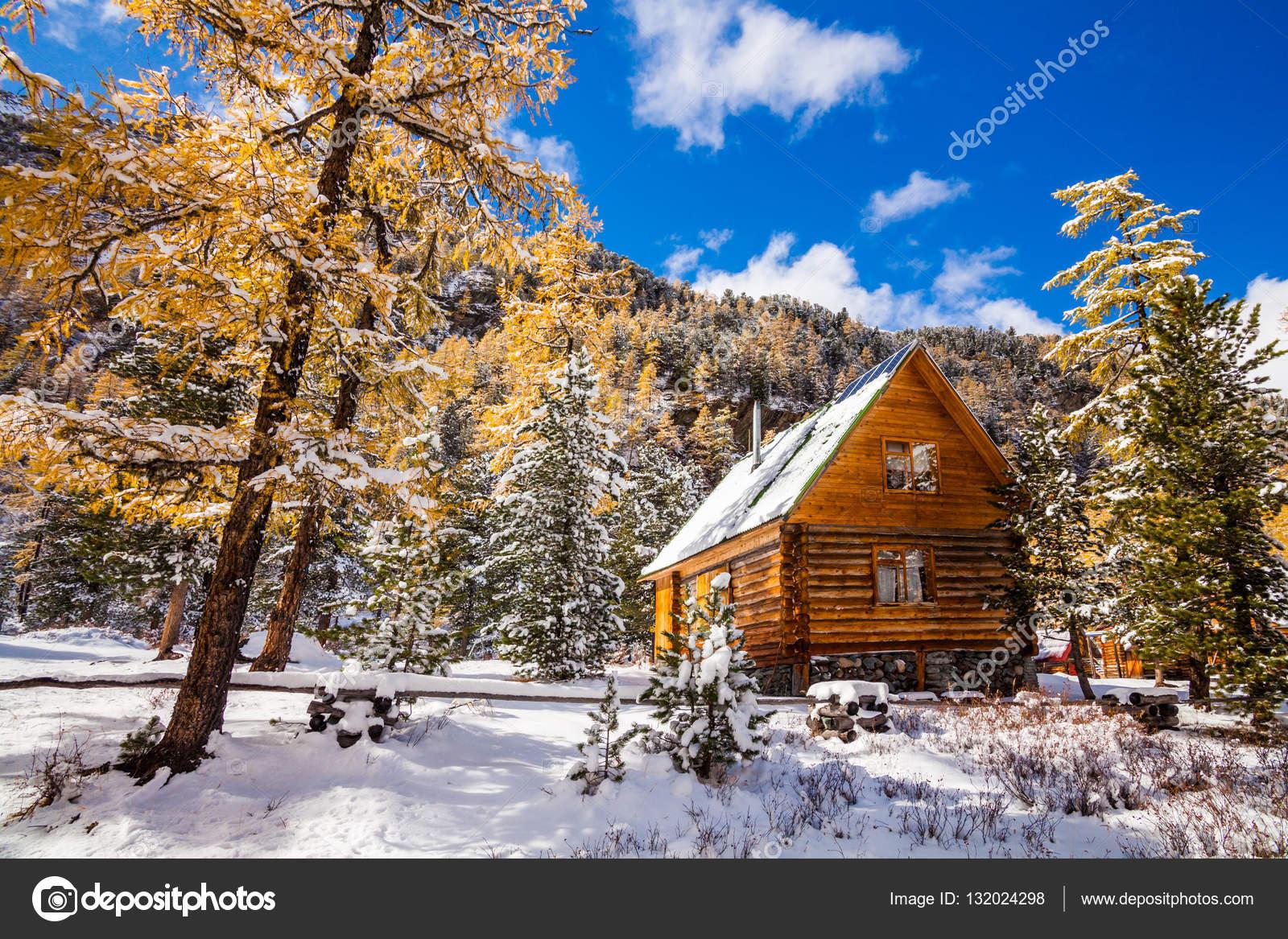 Fondos de pantalla caba as de invierno caba a bajo la nieve en el bosque de invierno foto de - Cabana invierno ...