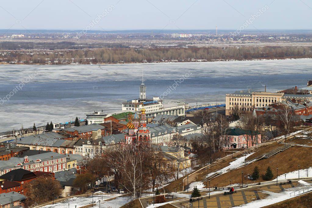 View on the Volga
