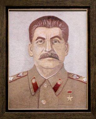 Photo historical portrait of Stalin