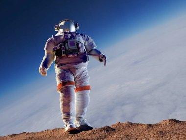 Astronaut,3d render