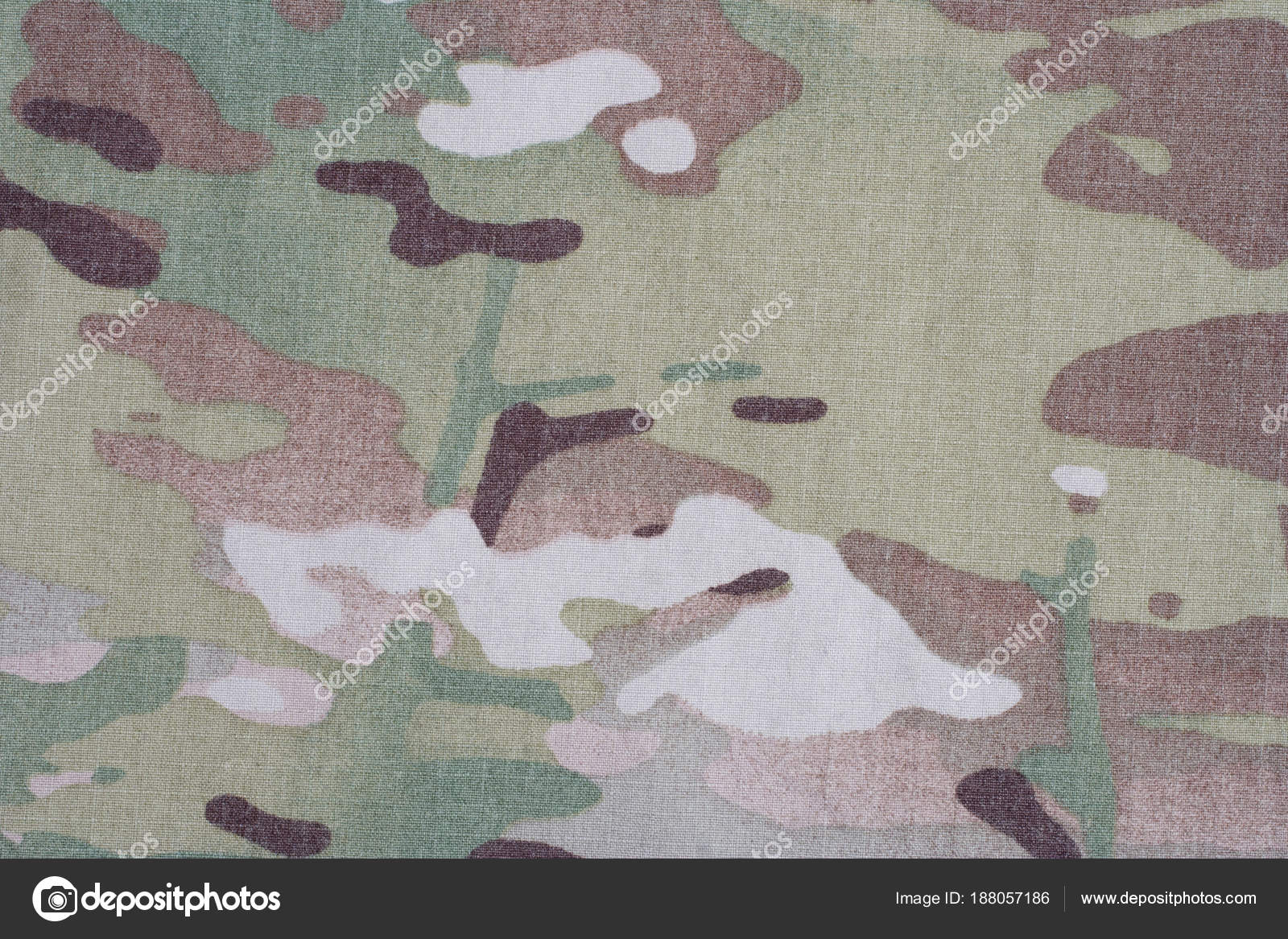 Modern Camouflage Fabric Texture Background Stock Photo